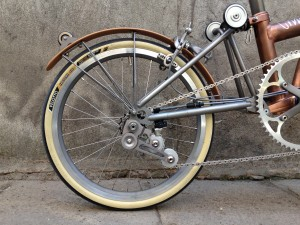 Brompton tuning - CapProblema - Barcelona - Raw copper nº 5 (10)