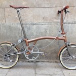Brompton tuning - CapProblema - Barcelona - Raw copper nº 5 (2)