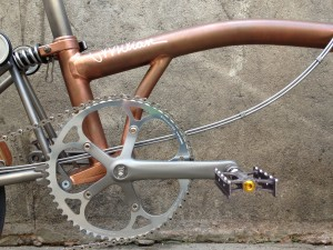 Brompton tuning - CapProblema - Barcelona - Raw copper nº 5 (3)