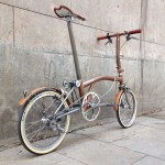 Brompton tuning - CapProblema - Barcelona - Raw copper nº 5 (5)